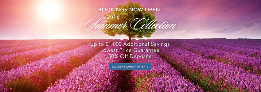 2016 Summer Collection | Up To $1,000 Additional Savings